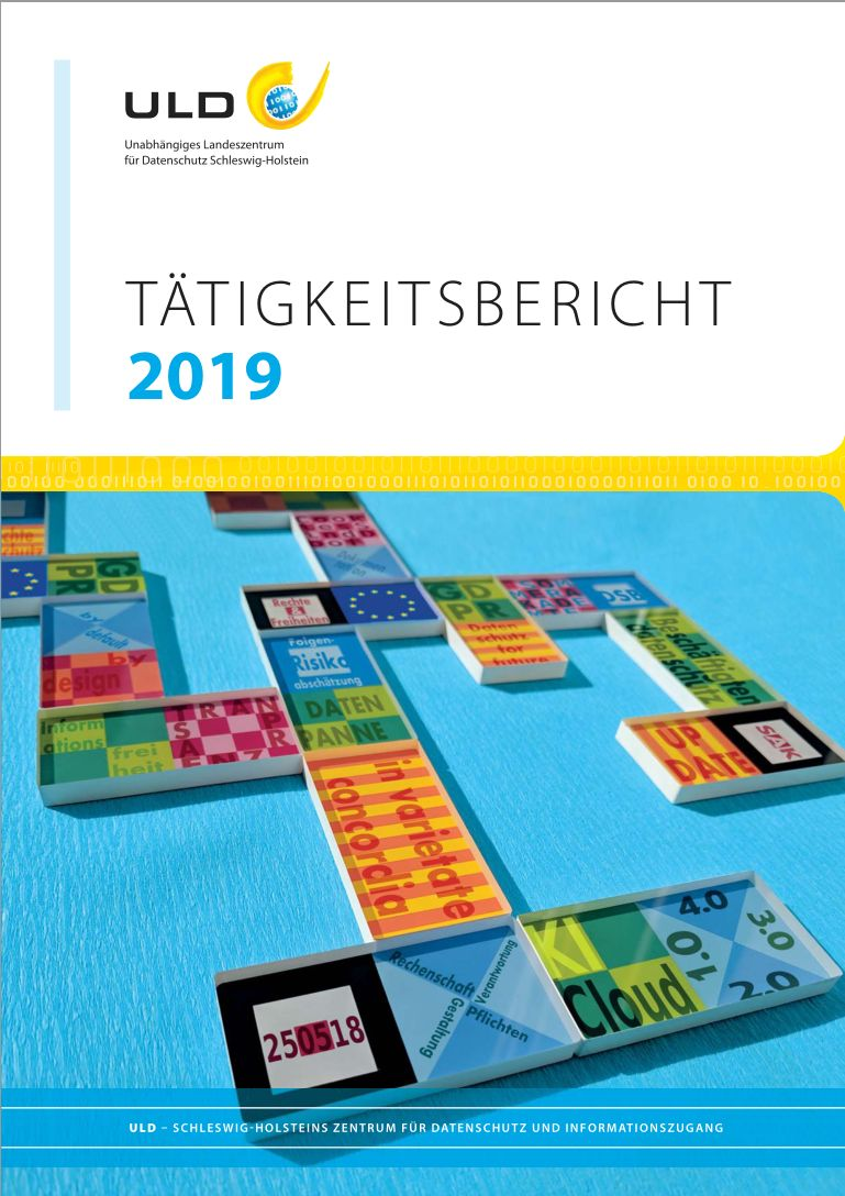 Datenschutz und Informationsfreiheit in Schleswig-Holstein: hart am Wind – Landesbeauftragte für Datenschutz stellt Tätigkeitsbericht 2019 vor –